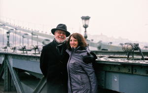 Philip and Alma in Budapest
