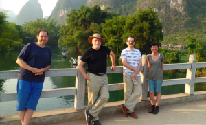 Writers and Yulong River